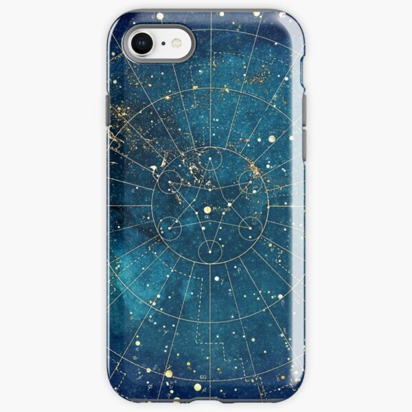 Star Map :: City Lights iPhone Tough Case
