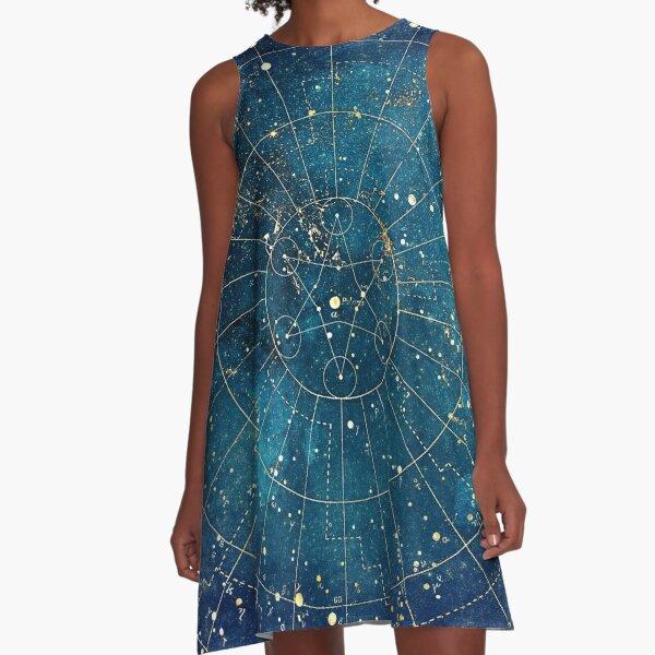 Star Map :: City Lights A-Line Dress