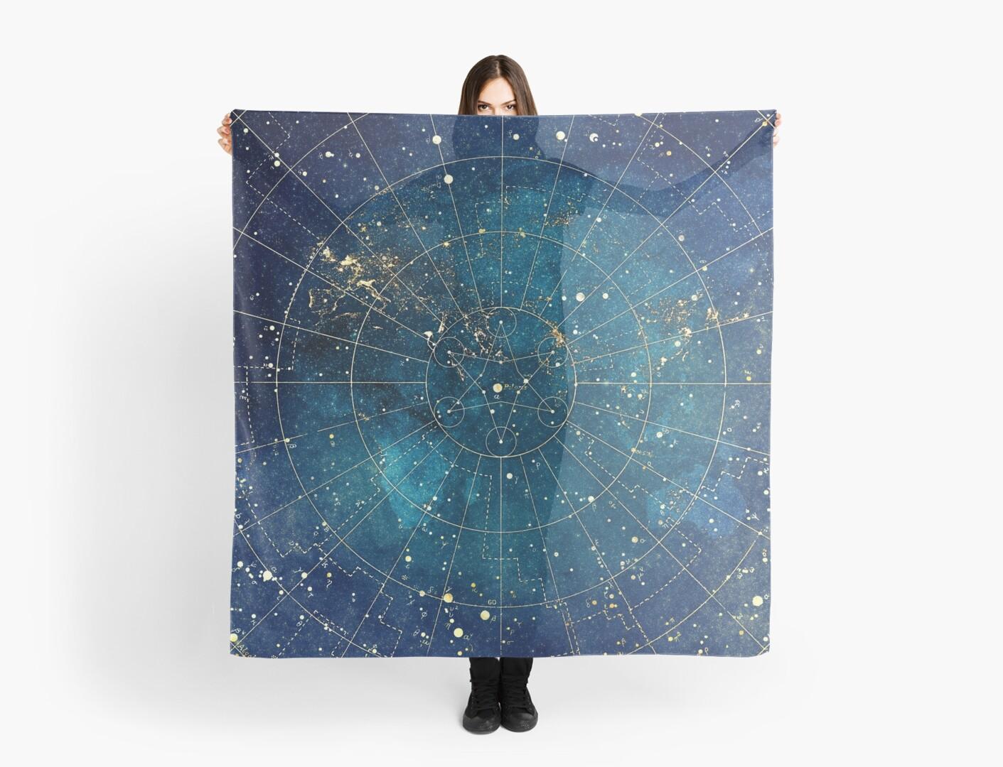 Star Map :: City Lights by Jenny Lloyd