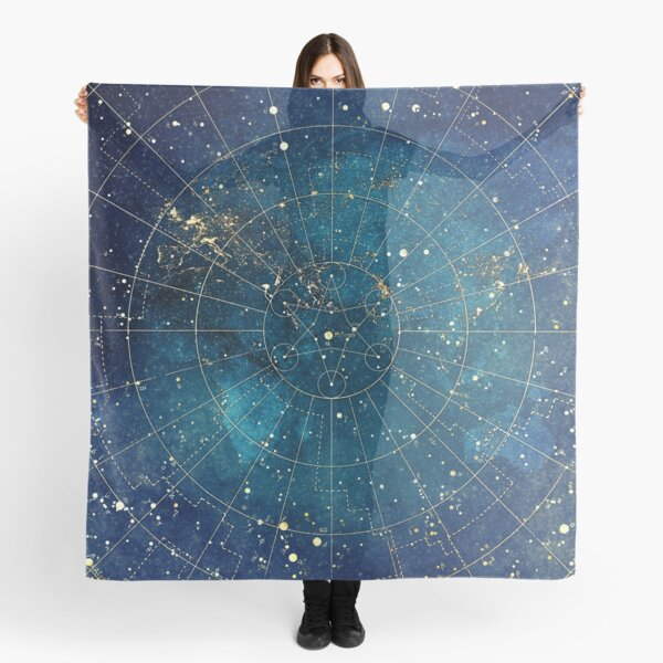 Star Map :: City Lights Scarf