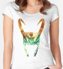God of Mischief Women's Fitted Scoop T-Shirt