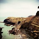 Merlins Cave, Tintagel by Victoria Ashman
