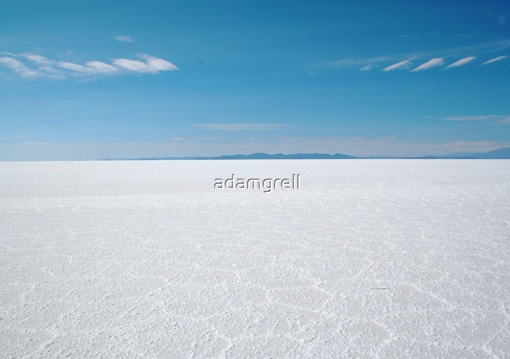 Salar de Uyuni by adamgrell