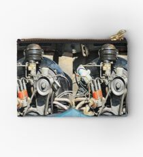 1960 VW Beetle Engine as Art Studio Pouch