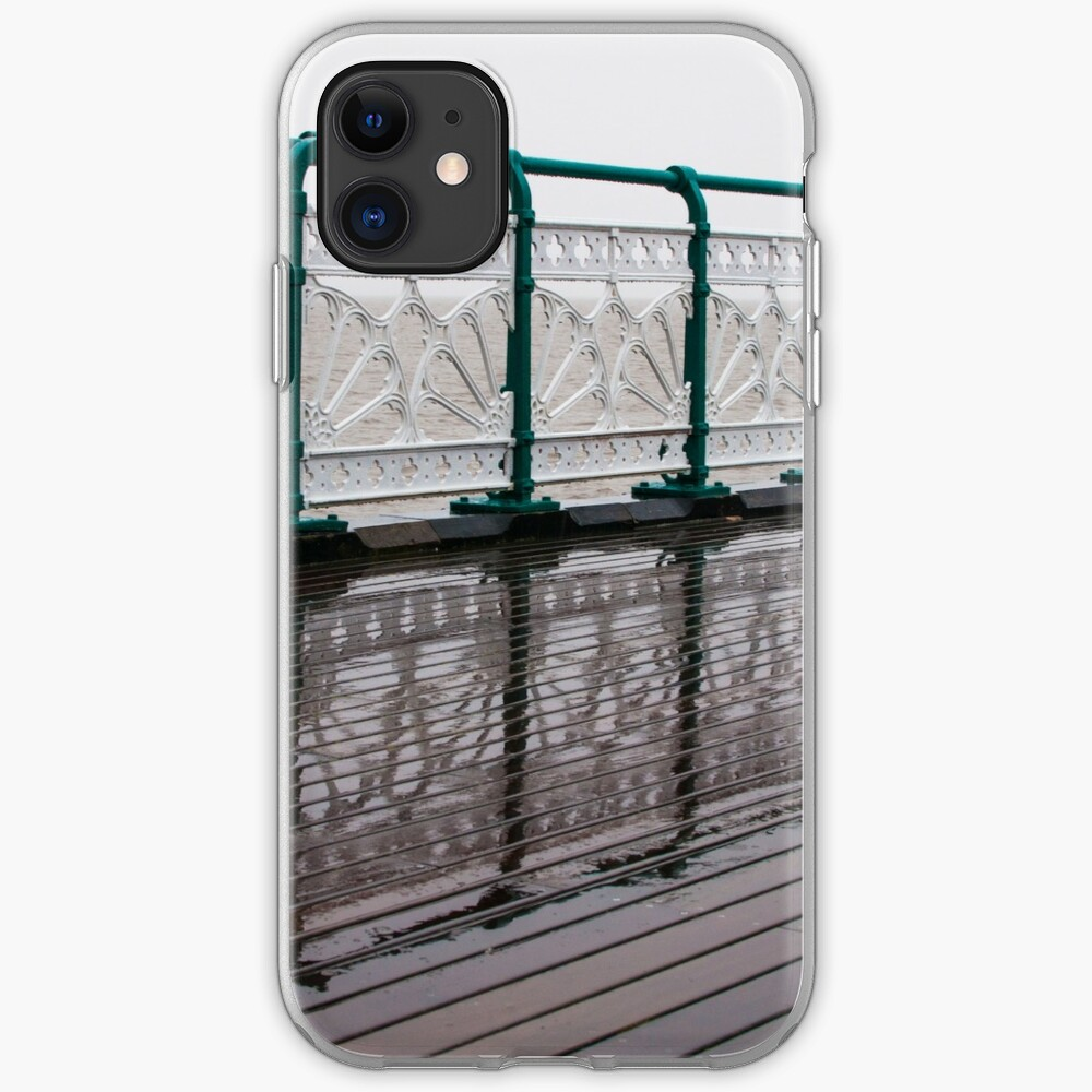 Penarth Pier reflection iPhone Case & Cover