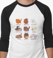 Hairy Pawtter Men's Baseball ¾ T-Shirt