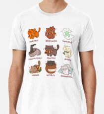 Haarige Pawtter Männer Premium T-Shirts