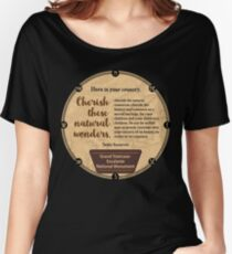 Grand Staircase-Escalante National Monument in Utah Women's Relaxed Fit T-Shirt