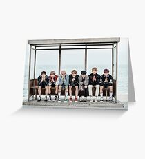 BTS by the Sea Greeting Card