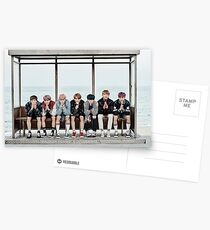 BTS by the Sea Postcards