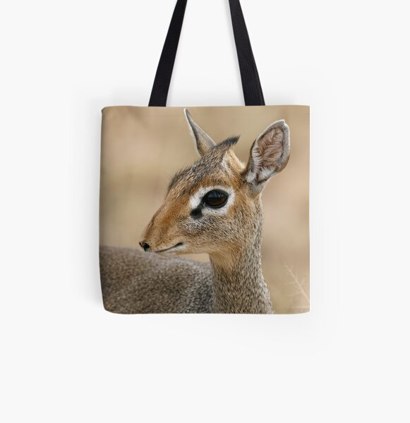 L'oeil du dik-dik All Over Print Tote Bag