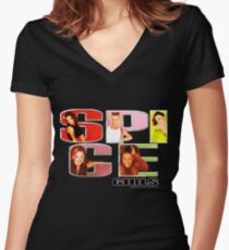 SPICE T-shirt♥ Women's Fitted V-Neck T-Shirt