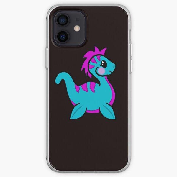 pleasie the polite plesiosaur iPhone Soft Case