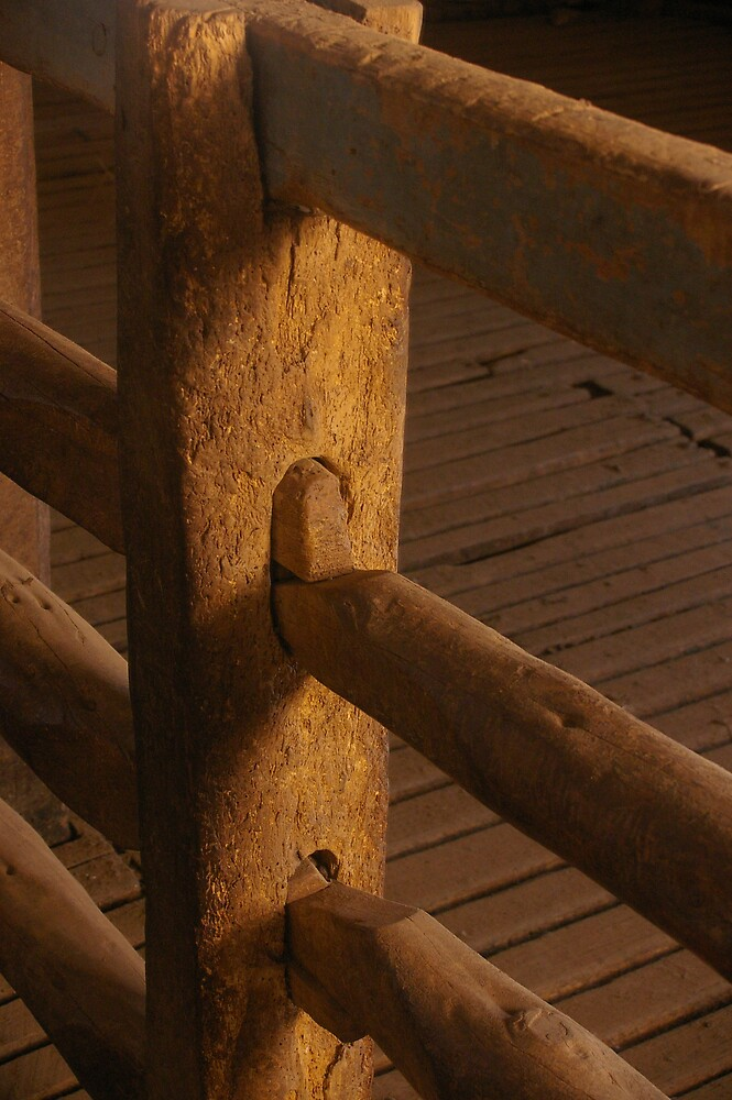 Woolshed Fence Detail by Greg Eyre