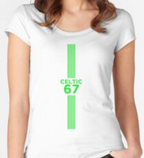Celtic 67 v2 Women's Fitted Scoop T-Shirt
