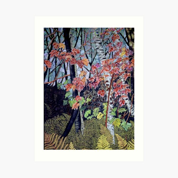 Time for autumn Leaves Art Print