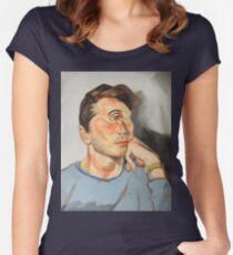 Handsome Cyclops Women's Fitted Scoop T-Shirt