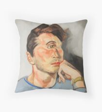 Handsome Cyclops Throw Pillow