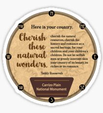 Carrizo Plain National Monument in California Sticker