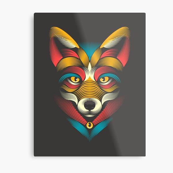FOXoul Metal Print