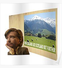 New Zealand Scotland Poster Flight Conchords ver.1 Poster