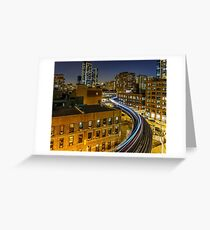 Lightspeed Greeting Card