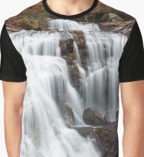 Bald River Falls Graphic T-Shirt