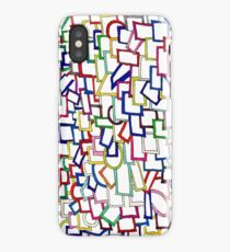 Squares in Ink iPhone Case