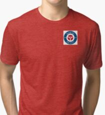 smallcarBIGCITY Roundel  Tri-blend T-Shirt
