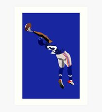 Odell catch Art Print