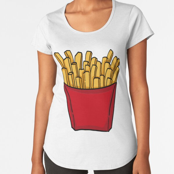 French fries french fries Premium Scoop T-Shirt
