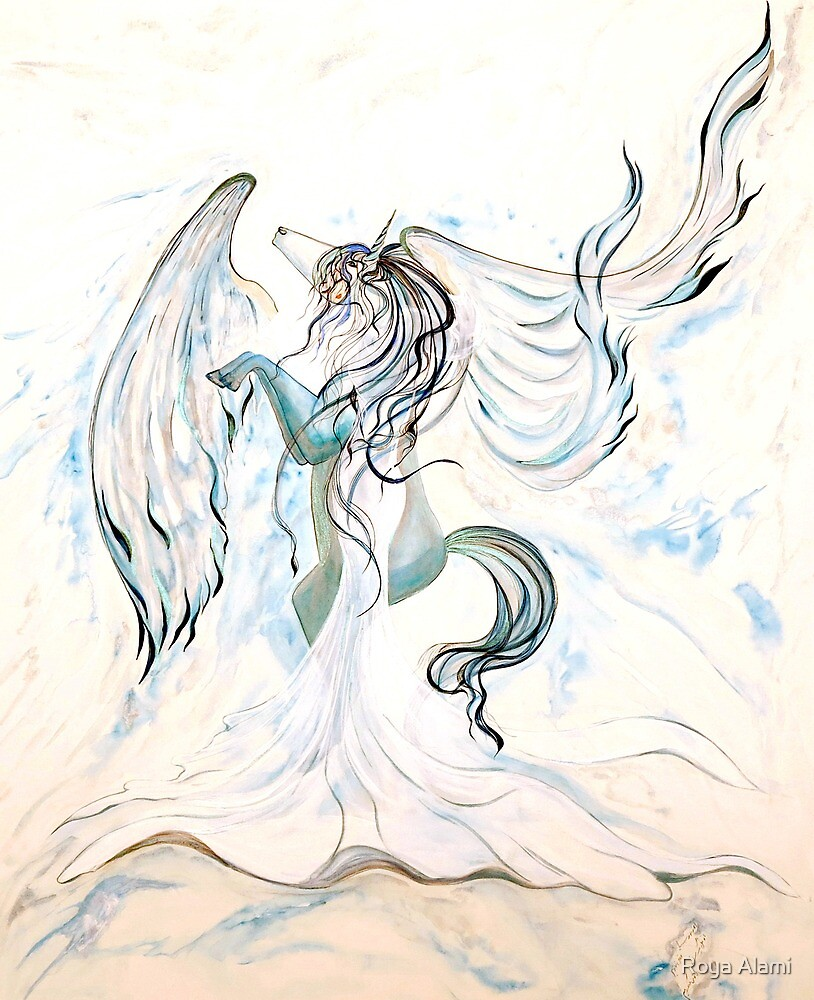 Aquadream Unicorn by Roya Alami
