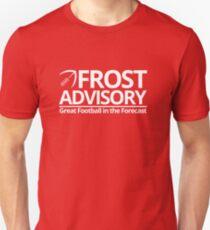 Frost Advisory - Football Unisex T-Shirt