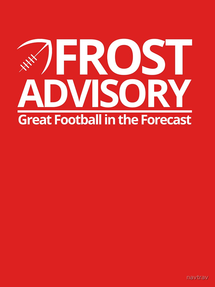 Frost Advisory - Football by navtrav