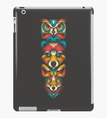Forest Animals Totem iPad Case/Skin