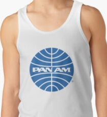 Pan Am Tshirt - Defunct Airline Company Logo - Airline Memorabilia - Retro Company Logo - Retro Tshirt Tank Top