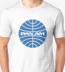 Pan Am Tshirt - Defunct Airline Company Logo - Airline Memorabilia - Retro Company Logo - Retro Tshirt Unisex T-Shirt