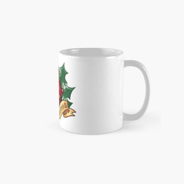 d20 - Merry Critmas Classic Mug