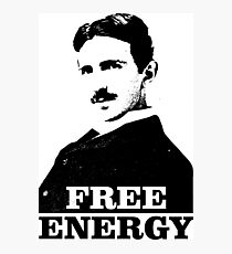 Tesla - Free Energy Photographic Print