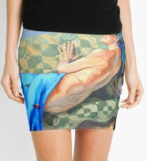 Welcoming the Golden Age Mini Skirt