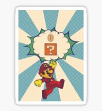 Super Mario Pop Sticker