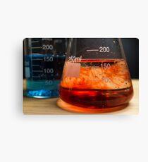 Science Beaker Experiment Canvas Print