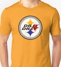 origin of dilly bud light shirt dilly steelers Unisex T-Shirt