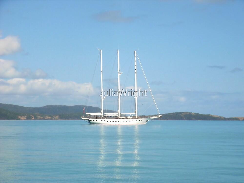 Sailing the Whitsundays by JuliaWright