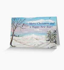 Winter Wonderland Card Greeting Card