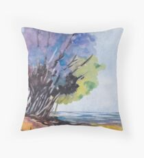 For the Tree-lovers Throw Pillow