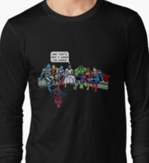 That's How I Saved The World Jesus Superheros Christian T-Shirt Long Sleeve T-Shirt
