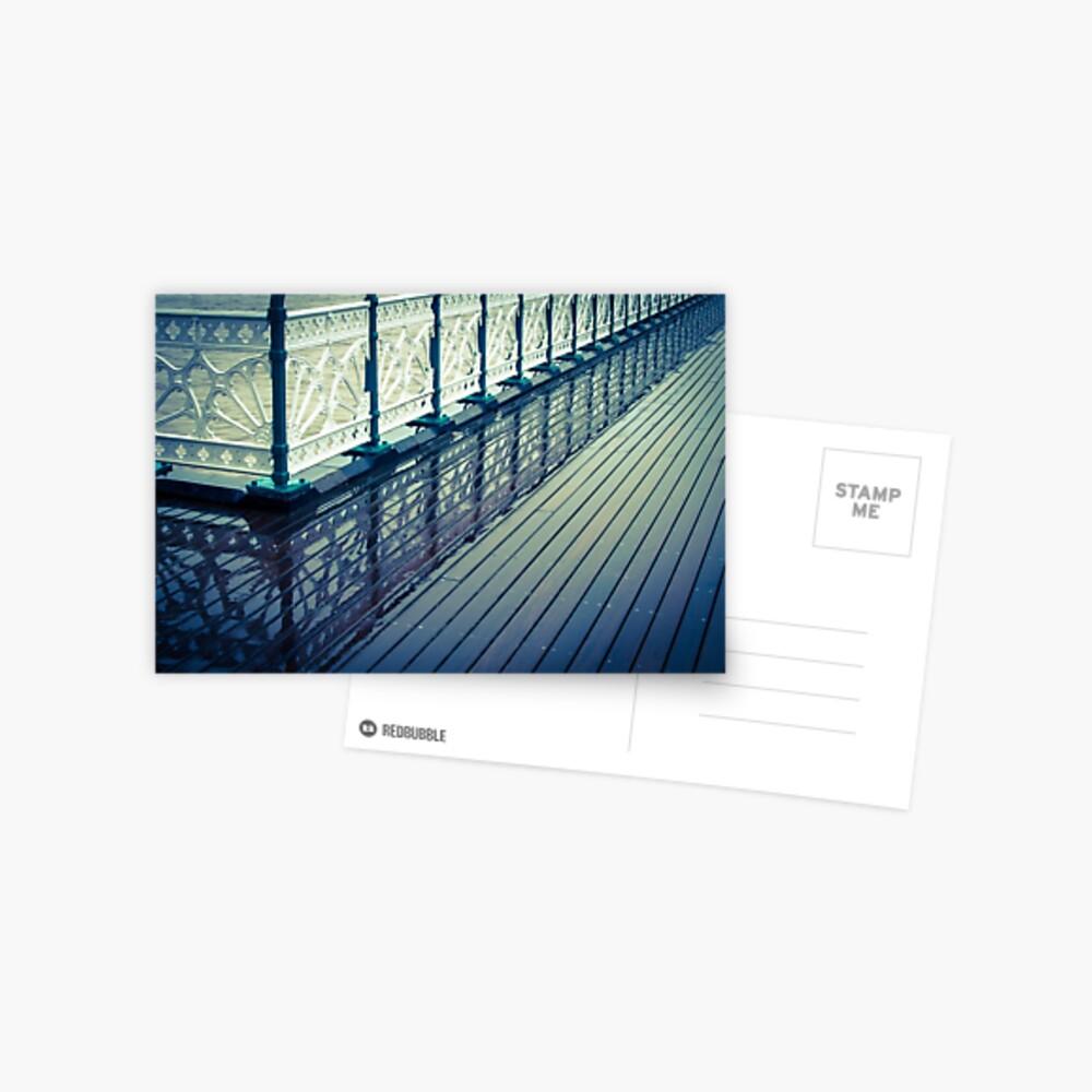 Penarth Pier reflection Postcard