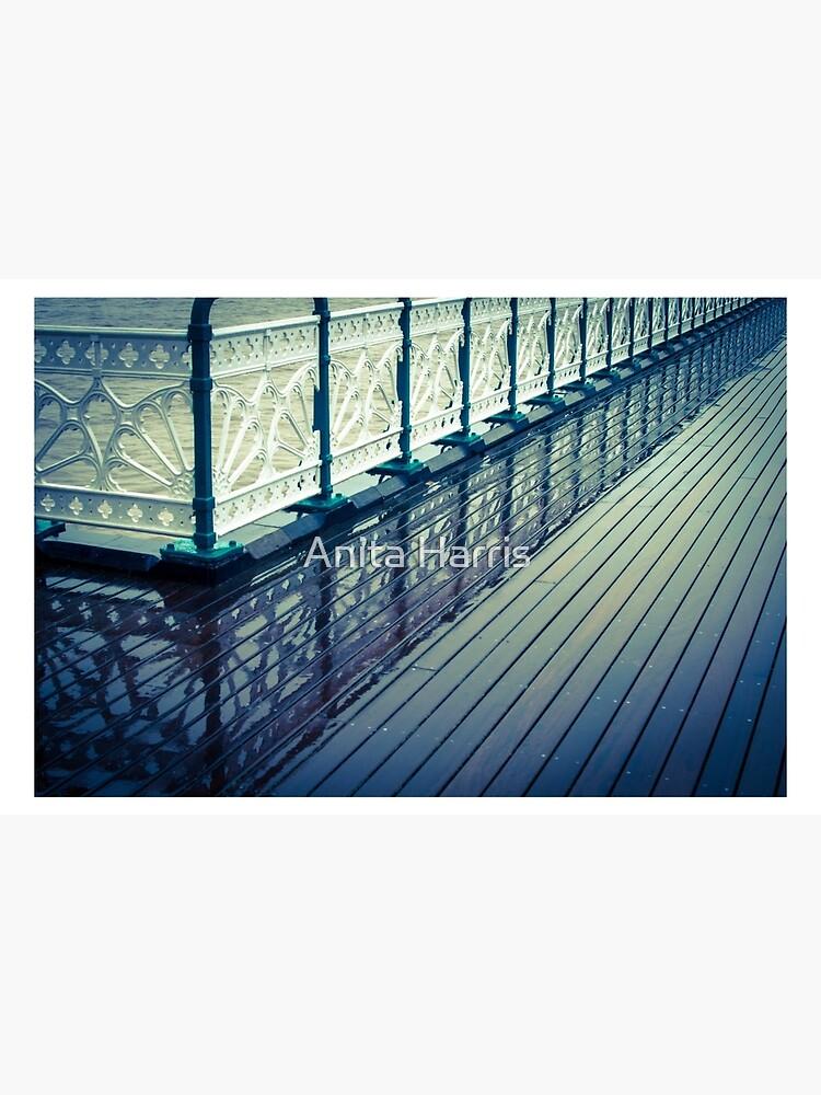 Penarth Pier reflection by plasticflower