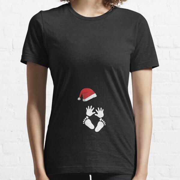 Grossesse de Noël T-shirt essentiel